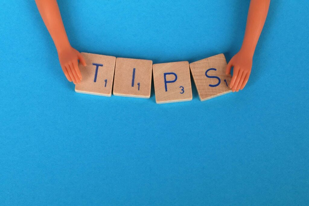 Tips for recovery